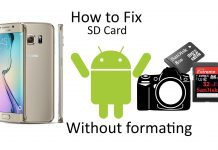 How to fix SD card - Lifestan