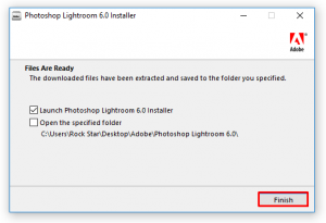 Lightroom installation - Lifestan