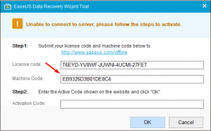 easeus data recovery wizard license code list 2018