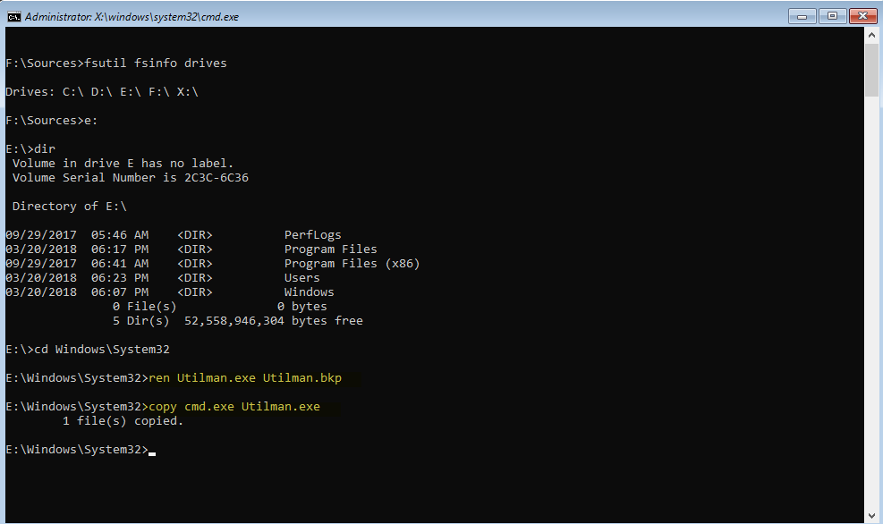 how to change admin password on windows 10 cmd